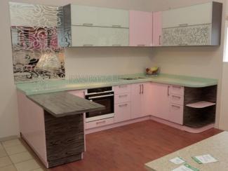Кухня «Плаза» мдф эмаль - Мебельная фабрика «Фаворит»