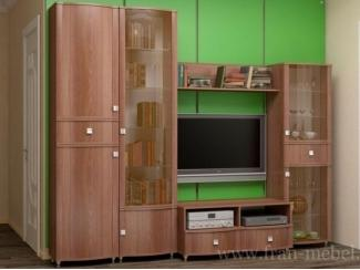 Простая стенка Сицилия 4  - Мебельная фабрика «Фран»