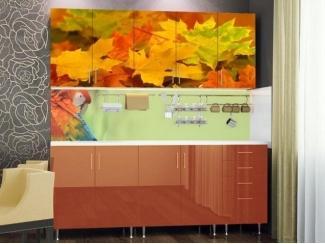 Кухня с красивой фотопечатью  - Мебельная фабрика «Северин»