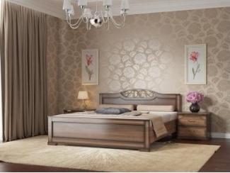 Кровать Жасмин - Мебельная фабрика «СВ-стиль»