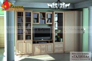 Гостиная Патина 004 - Мебельная фабрика «Галина»