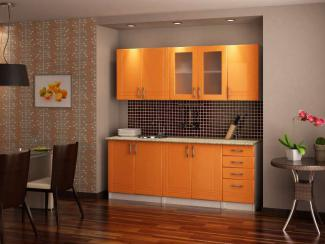 Кухонный гарнитур «А-19 Оранж Сигнал» - Мебельная фабрика «ПО СМГ»