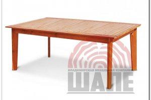 Стол прямоугольный обеденный ОСКАР - Мебельная фабрика «ВМК-Шале»