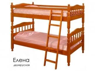Кровать двухъярусная Елена - Мебельная фабрика «Массив»