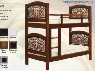 Кровать Мишутка - Мебельная фабрика «Мебельная Сказка»