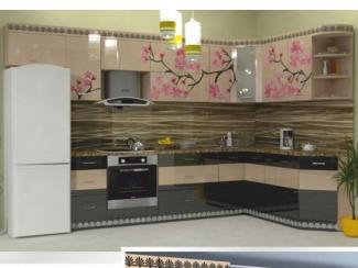 Кухня угловая Фотопечать 01 - Мебельная фабрика «Форт»