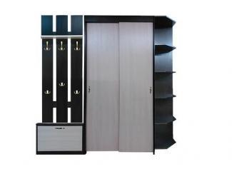 Прихожая со шкафом-купе ШШК - Мебельная фабрика «Коммеб»