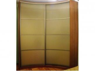 Вогнутый шкаф купе - Мебельная фабрика «ТРИ-е»