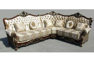Угловой диван люкс Санжар - Мебельная фабрика «Марина»