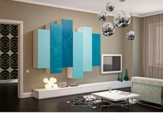 Гостиная стенка 072 - Мебельная фабрика «Mr.Doors»