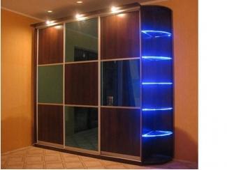 Шкаф-купе с подсветкой полок - Мебельная фабрика «Интерьер»