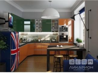 Современная кухня Анжела Басис - Мебельная фабрика «Ликарион»