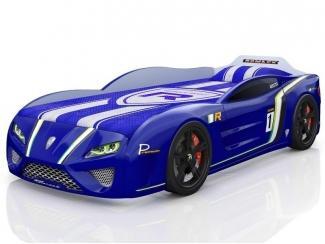 Кровать-машина SportLine синяя - Мебельная фабрика «Romack Möbel»