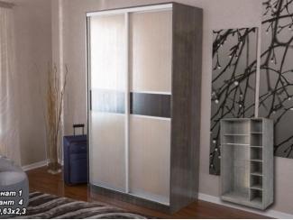 Шкаф-купе 2 створки без зеркал Меценат - Мебельная фабрика «Элна»