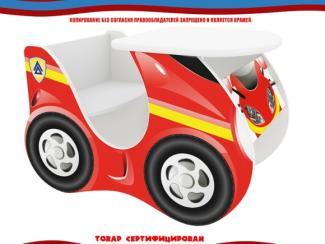 Стол детский скутер красный