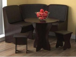 Полукруглый кухонный уголок  - Мебельная фабрика «Феникс-мебель»