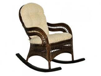 Кресло-качалка Kiwi из натурального ротанга.  - Импортёр мебели «ЭкоДизайн (Китай, Индонезия)»
