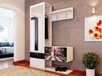 Прихожая прямая фотопечать лдсп - Изготовление мебели на заказ «Мега»