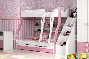 Детская двухъярусная кровать Tracy Pink  - Мебельная фабрика «ТомиНики»
