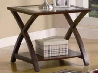 Стол журнальный, деревянный, квадратный-1684WF - Импортёр мебели «МебельТорг»