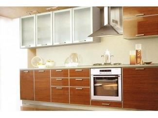 Кухня с фасадами из пластика  - Мебельная фабрика «Оризон»