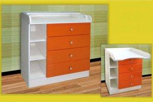 Детский пеленальный комод - Мебельная фабрика «Долес»