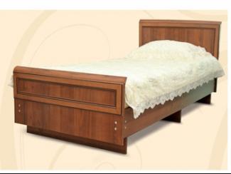 Кровать МДФ с декором - Мебельная фабрика «Шанс»