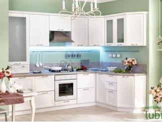 Модульный кухонный гарнитур Флора  - Мебельная фабрика «Любимый дом (Алмаз)»