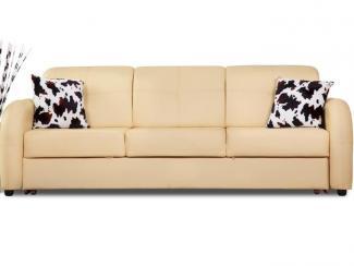 Прямой диван Ника Д3 кожа