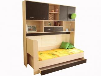Кровать и стенка - Мебельная фабрика «Рузская мебельная фабрика»