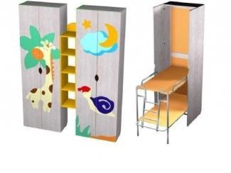 Детский шкаф с двухъярусными откидными кроватями - Мебельная фабрика «Вилена»