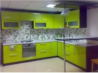Кухонный гарнитур с барной стойкой  - Мебельная фабрика «700 Кухонь»