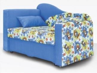 Голубой прямой диван Оливер  - Мебельная фабрика «Димир»