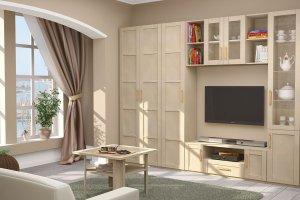 Гостиная Скандинавия-Люкс - Мебельная фабрика «Ижмебель»