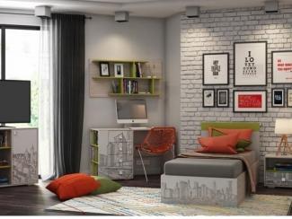 Детская  Мегаполис - Мебельная фабрика «Ваша мебель»