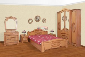 Спальный гарнитур Валенсия  - Мебельная фабрика «Вестра»