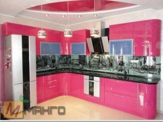 Кухня с фасадом пластик Перис - Мебельная фабрика «Манго»