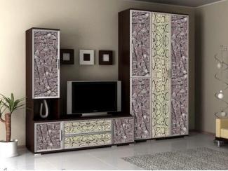 Современная стенка Аврелия Люкс 4 - Мебельная фабрика «Артемебель», г. Владимир