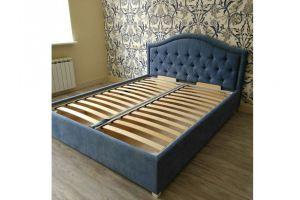 Кровать с каретной стяжкой - Мебельная фабрика «Ритм»