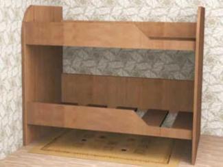Кровать Двухъярусная 2 - Мебельная фабрика «Мебель Jazz»