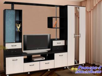 Стенка «РИВЬЕРА 4» - Мебельная фабрика «Грааль», г. Пенза