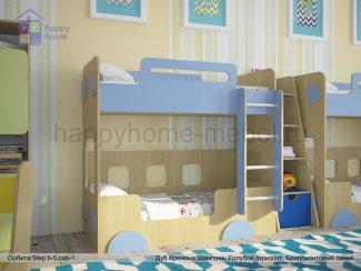 ДВУХЪЯРУСНАЯ КРОВАТЬ ОРБИТА STEP B5 (АВТОБУС) - Мебельная фабрика «Happy home»