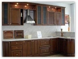 Кухня 0100-09 - Мебельная фабрика «Орион»
