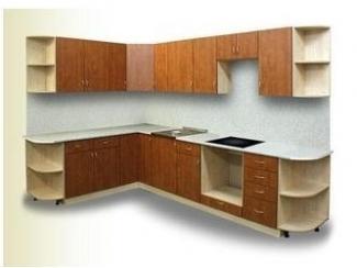 Большая кухня Прага  - Мебельная фабрика «Мебель Цивилизации»
