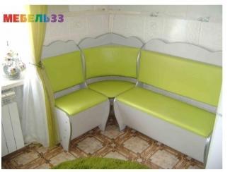 Кухонный уголок зеленый - Изготовление мебели на заказ «Мебель 33»