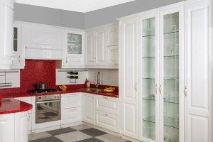 Кухня стеклянная модерн Престиж - Мебельная фабрика «Астмебель»