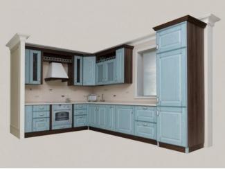 Голубая кухня Палермо  - Мебельная фабрика «Массив»