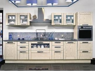 Светлая угловая кухня  - Мебельная фабрика «Перспектива»
