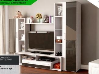 Невысокая мебель для гостиной Дельта  - Мебельная фабрика «Элна»