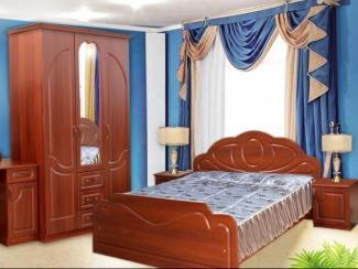 Спальный гарнитур Гармония (МДФ) - Мебельная фабрика «Элна»